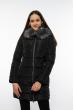 Куртка женская с капюшоном 120PSKL9603 черный
