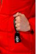 Куртка женская с капюшоном 120PSKL9603 красный
