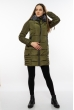 Куртка женская с капюшоном 120PSKL9603 хаки