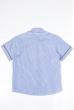Рубашка 120P293 junior бело-синий