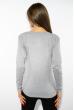 Лонгслив женский с принтом 85F10154 светло-серый
