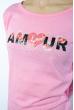 Лонгслив женский с принтом 85F10154 розовый