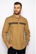 Рубашка с длинными рукавами в полоску 644f002 песочный