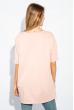 Туника женская батал нежные оттенки 955K003 бледно-розовый