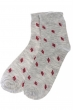 Носки женские 120PRU020 светло-серый меланж