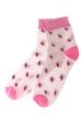 Носки женские 120PRU020 светло-кремовый / розовый
