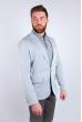 Пиджак светлый летний №158F008 светло-серый