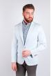 Пиджак №158F010 светло-голубой