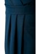 Платье женское, на запах  95P7098 темно-синий