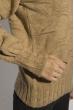 Свитер женский с объемными рукавами 120PRZGR030 кофейный