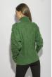 Свитер женский с объемными рукавами 120PRZGR030 зеленый