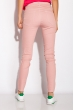 Джинсы женские  230F041 модель Skinny лиловый