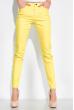 Джинсы женские  230F041 модель Skinny лимонный