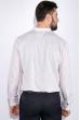 Рубашка мужская, однотонная 511F010-1 светло-бежевый