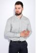 Рубашка мужская, однотонная 511F010-1 оливковый