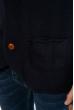 Кардиган на пуговицах 618F001 темно-синий