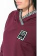 Костюм женский (толстовка, штаны) 77PD869 марсала