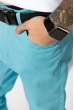 Брюки 392V001 голубой