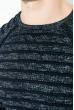 Джемпер мужской, вязаный  267F026 сине-белый