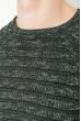 Джемпер мужской, вязаный  267F026 серо-грифельный