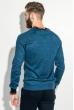 Пуловер мужской с нашивкой 50PD470 джинс