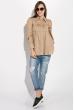 Рубашка женская 08P141 бежевый
