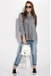 Рубашка женская 08P141 серый