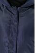 Пальто женское с капюшоном 154V002 черный