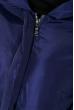 Пальто женское с капюшоном 154V002 индиго