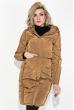 Пальто женское с капюшоном 154V002 темно-синий