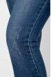 Джинсы женские базовые 155V001 синий