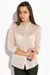Рубашка женская, прямого покроя  64PD338-1 бежевый
