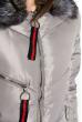 Куртка женская 120PGO801 светло-серый