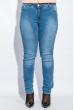 Джинсы женские батал 417F003 светло-синий