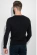 Пуловер мужской фактурный узор 50PD3421 черный