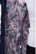 Куртка с рукавами 3/4  120PSKL1326 темно-синий