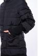 Куртка с рукавами 3/4  120PSKL1326 черный