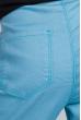 Брюки женские приталенные 282F002 junior бирюзово-голубой