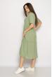Однотонное платье свободного кроя 632F009 мятный