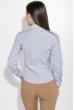 Рубашка женская в полоску 287V001-1 сине-белый
