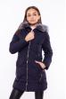 Куртка женская приталенная 120PSKL8002 темно-синий