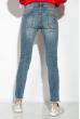 Джинсы женские 120PER018-1 голубой