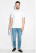 Джинсы мужские светлые 421F003-2 голубой