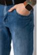 Бриджи джинсовые в стиле Casual 120PSER5062 светло-синий