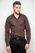 Рубашка 3215 темно-коричневый