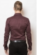 Рубашка 3220 гнилая вишня