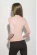 Гольф женский однотонный 153P010 светло-розовый