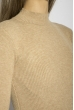 Гольф женский однотонный 153P010 песочный