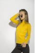 Гольф женский однотонный 153P010 желтый