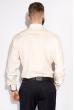 Мужская рубашка 120PAR256-2 бежевый